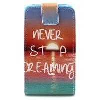 Flipové puzdro pre Microsoft Lumia 640 - snívanie