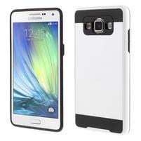 Hybridní gélové/plastové puzdro na Samsung Galaxy A5 - biele