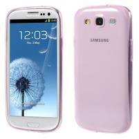 Ultratenký slim 0.6 mm obal na Samsung Galaxy S III / S3 - rose