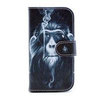 Peňaženkové puzdro na mobil Samsung Galaxy S III - opičák