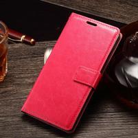 Koženkové puzdro Sony Xperia M4 Aqua - rose