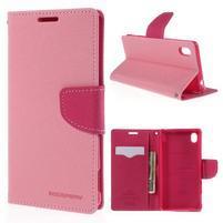 Ochranné pouzdro na Sony Xperia M4 Aqua - růžové/rose