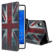 Styles puzdro pre mobil Sony Xperia Z3 - UK vlajka