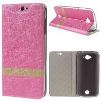 Klopové puzdro pre mobil Acer Liquid Z530 - rose