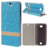 Klopové puzdro pre mobil Acer Liquid Z530 - modré