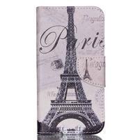 Luxy peněženkové pouzdro na Acer Liquid Z530 - Eiffelova věž