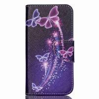 Luxy peňaženkové puzdro pre Acer Liquid Z530 - kouzelní motýľci