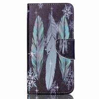 Peňaženkové puzdro pre mobil Acer Liquid Z630 - pierka
