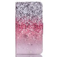Peňaženkové puzdro pre mobil Acer Liquid Z630 - gliter