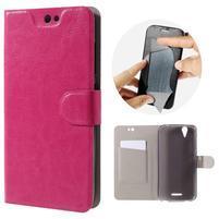 Horse peňaženkové puzdro pre Acer Liquid Z630 - rose