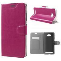 Horse peňaženkové puzdro pre Asus Zenfone Max - rose