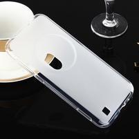 Gélový matný obal pre mobil Asus Zenfone Zoom - biely