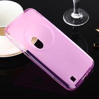 Gélový matný obal pre mobil Asus Zenfone Zoom - ružový