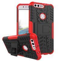 Armory odolný obal na mobil Honor 8 - červený