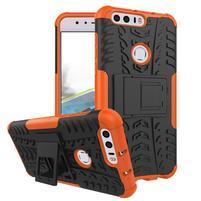 Armory odolný obal na mobil Honor 8 - oranžový