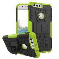 Armory odolný obal na mobil Honor 8 - zelený