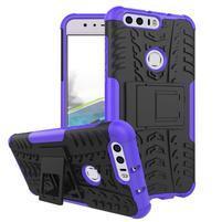 Armory odolný obal na mobil Honor 8 - fialový