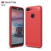 Brush odolný gélový obal na Honor 9 Lite - červený