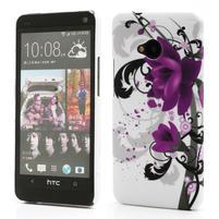 Plastový kryt pre HTC One M7 - lotus