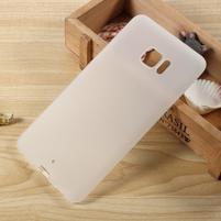 Matný gélový obal na HTC U Ultra - biely