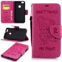 BadBeer peňaženkové puzdro pre Huawei P10 Lite - rose