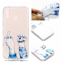 Printy gélový obal na Huawei P20 Lite - gesto