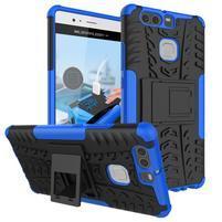 Outdoor ochranný kryt na mobil Huawei P9 - modrý