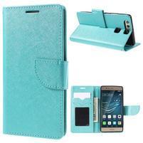 Crossy peněženkové pouzdro na Huawei P9 - modré