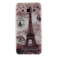 Gélový obal pre Samsung Galaxy A3    - Eiffelova veža