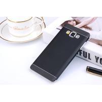 Čierny kovový kryt pre Samsung Galaxy A5