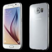 Ultra tenký obal na Samsung Galaxy S6 - transparentný