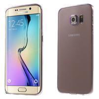 Ultra tenký gélový obal na Samsung Galaxy S6 Edge - fialový