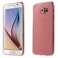Ultra tenký obal na Samsung Galaxy S6 - červený