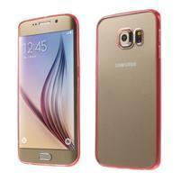 Rose hybridný gélový obal na Samsung Galaxy S6 Edge