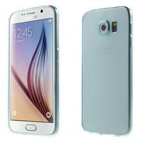 Ultra tenký obal pre Samsung Galaxy S6 - svetlo modrý