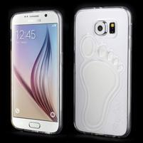 Protiskluzový gélový kryt na Samsung Galaxy S6 - transparentný