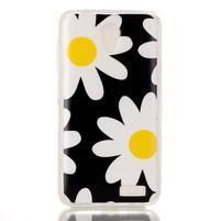 Softy gelový obal na mobil Lenovo A319 - sedmikrásky