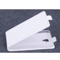 PU kožené flipové puzdro pre Lenovo A536 - biele