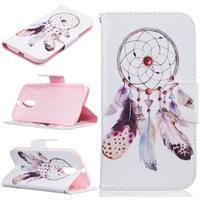 Emotive knížkové puzdro pre mobil Lenovo Moto G4 a G4 Plus - snívanie