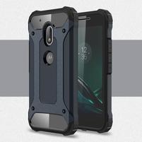 Armory odolný obal pre mobil Lenovo Moto G4 Play - tmavomodrý
