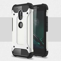 Armory odolný obal pre mobil Lenovo Moto G4 Play - bielý