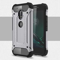 Armory odolný obal pre mobil Lenovo Moto G4 Play - šedý