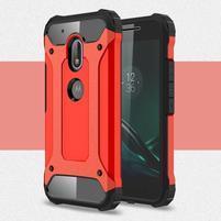 Armory odolný obal pre mobil Lenovo Moto G4 Play - červený
