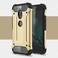 Armory odolný obal pre mobil Lenovo Moto G4 Play - zlatý