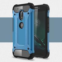 Armory odolný obal pre mobil Lenovo Moto G4 Play - modrý