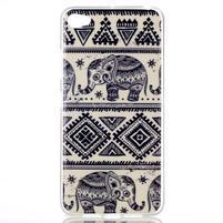 Glossy gélový obal pre mobil Lenovo S90 - slony