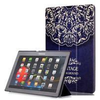 Polohovatelné puzdro pre tablet Lenovo Tab 2 A10-70 - vintage