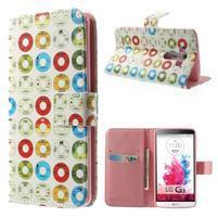 Obrázkové puzdro pre mobil LG G3 - farebná kolečka