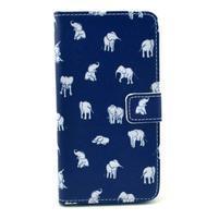 Obrázkové puzdro pre mobil LG G3 - sloníci