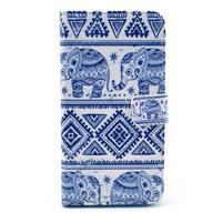Obrázkové pouzdro na mobil LG G3 - modří sloni